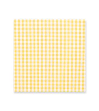 Sunflower Gingham Yellow Check by Hemrajani Product Image