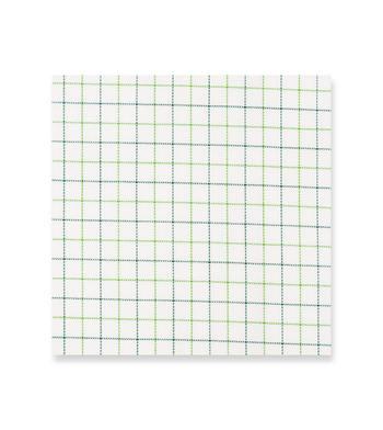 shirts cotton irish green cream green off white check