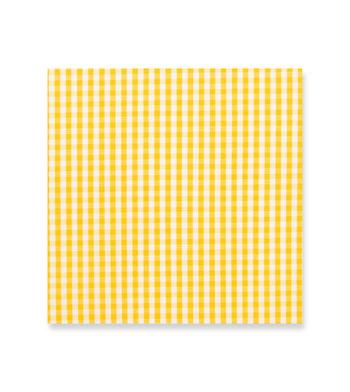 shirts cotton butterscotch gingham yellow white check