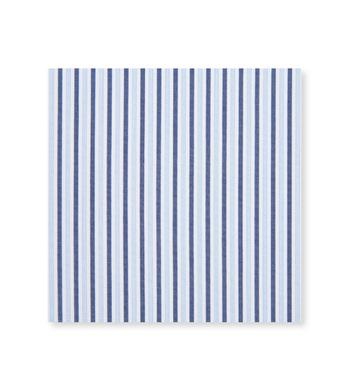 custom tailored shirts sky and navy stripe