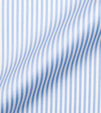 custom tailored shirts jonathan blue white stripe twill