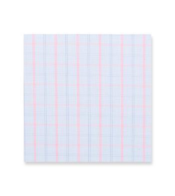 Simple Pastime Light Blue Pink Check by Hemrajani Product Image