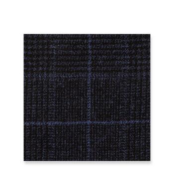 Caviar Blue Black Glen Check by Vitale Barberis Canonico Product Image