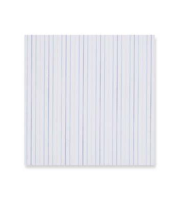 Blue shades stripes on white Supraluxe Premio White by Alumo Product Image