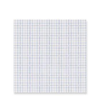 Indigo Tattersall checks Supraluxe Premio Blue White by Alumo Product Image