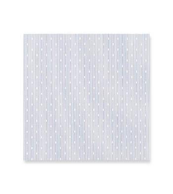 Navy blue micro stripes Supraluxe Premio Blue White by Alumo Product Image