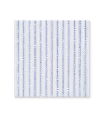 Indigo patterned stripes on white Supraluxe Premio Blue White by Alumo Product Image