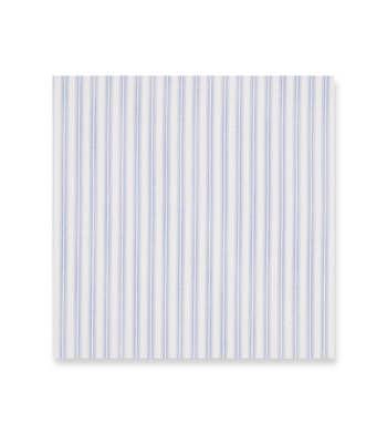 Blue shades micro stripes Supraluxe Premio White by Alumo Product Image