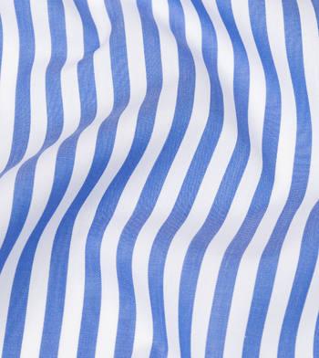 shirts cottons blue ribbon stripes supraluxe blue white