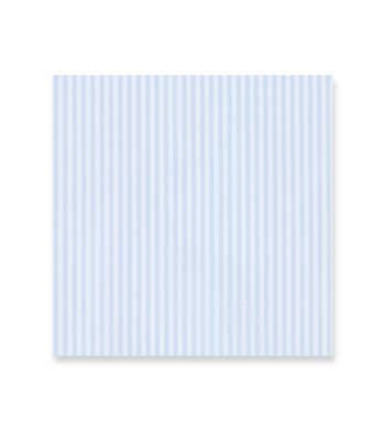 Baby blue stripes on white - Soyella Light Blue White by Alumo Product Image