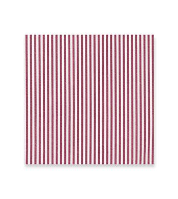 Maroon and white stripes - Soyella White by Alumo Product Image