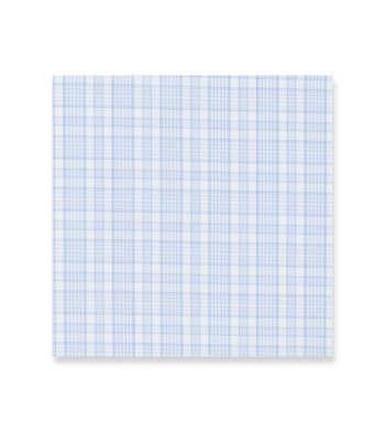 Misty Blue Plaids Light White by Alumo Product Image