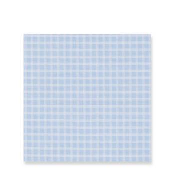 Venus Blue on white checks Seerluxe Light by Alumo Product Image