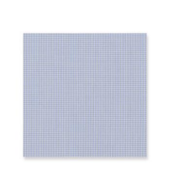 Sky Blue Check Suprastretch Poplin by Alumo Product Image