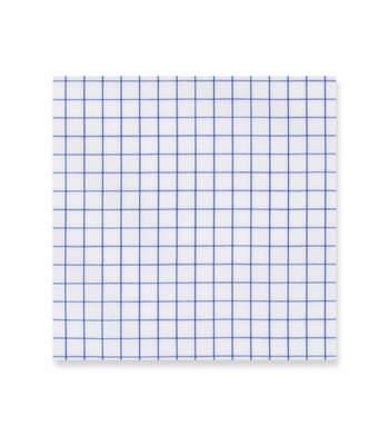 Absolute Zero Blue checks - Suprastretch Twill blue white by Alumo Product Image