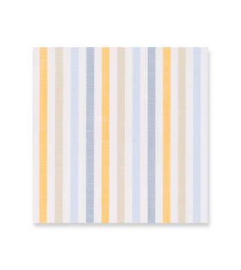 Blue orange tan grey stripes - Avellino Multicolor by Alumo Product Image