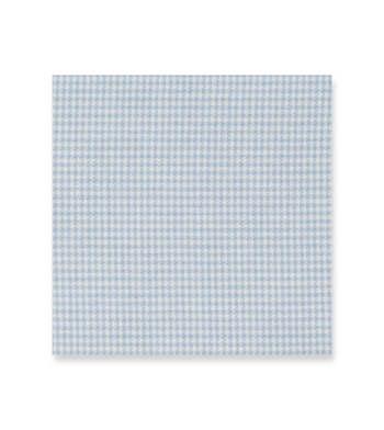 Carolina Blue Houndstooth - Cashmerello Light White by Alumo Product Image