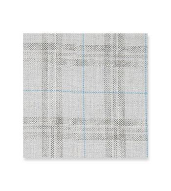 London fog checks Grey Blue by Loro Piana Product Image