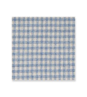 Carolina BLue Checks Blue Off White by Loro Piana Product Image