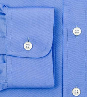 custom tailored shirts cotton polyester autumn sky