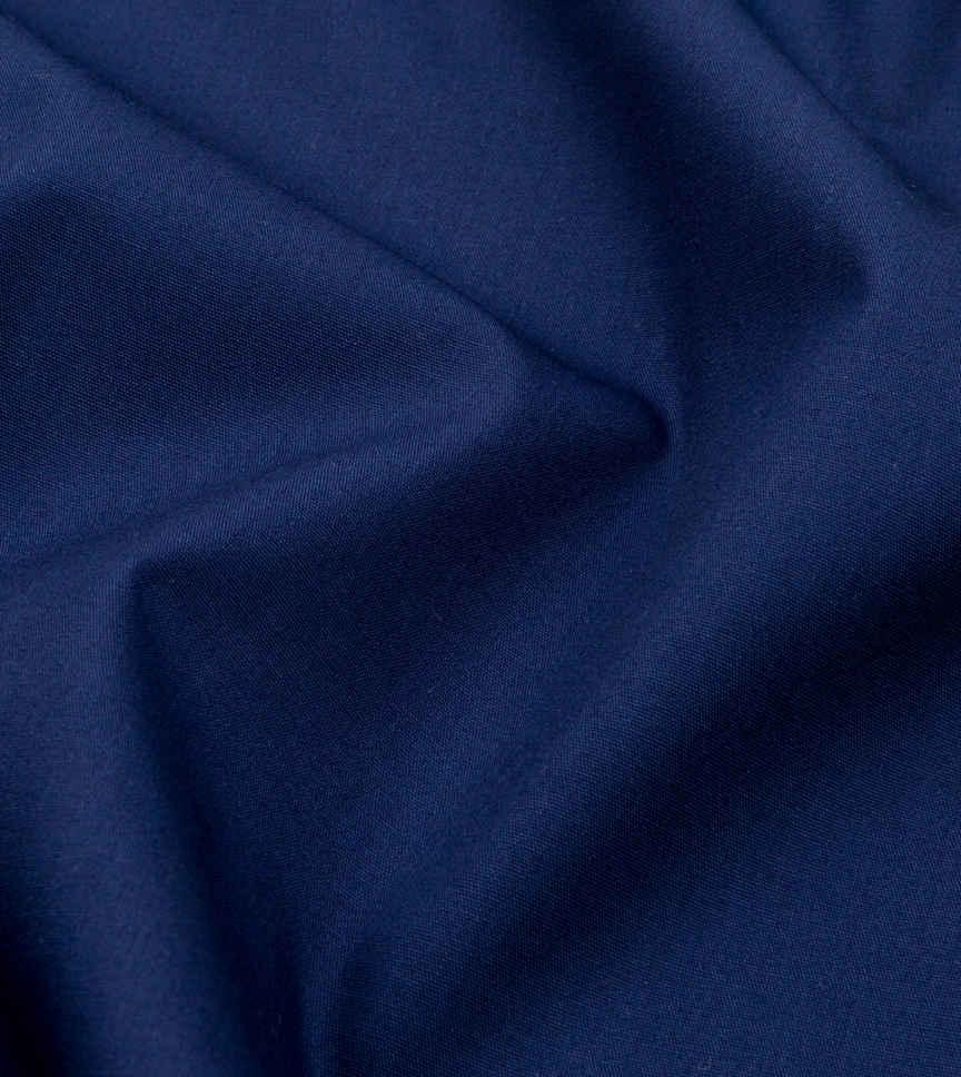 Peacock Deep Blue Navy Solids by Hemrajani Product Image