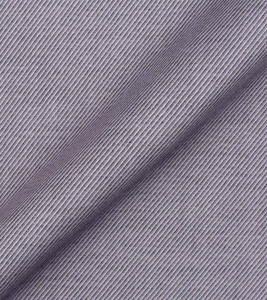 The Knights Grey Royal Twill Stripe by Hemrajani Product Image