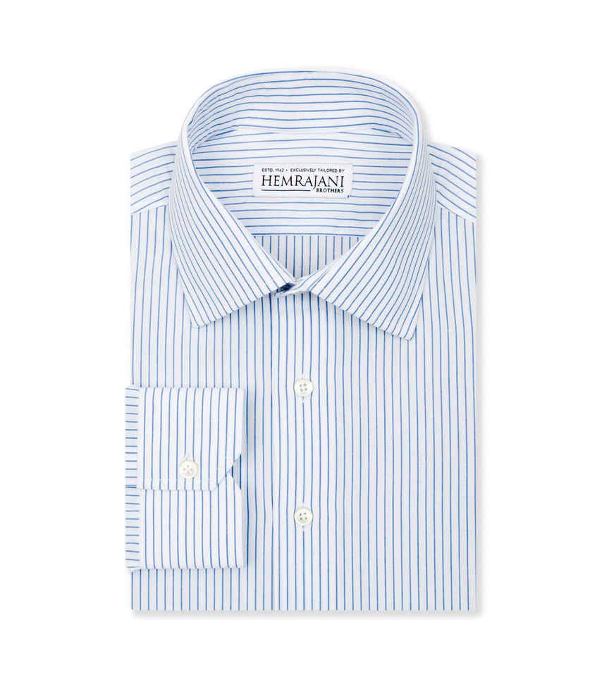 The Office Blue White Stripe by Hemrajani Product Image