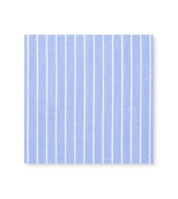 Sophisticated Feathered Blue Striped by Hemrajani Product Image