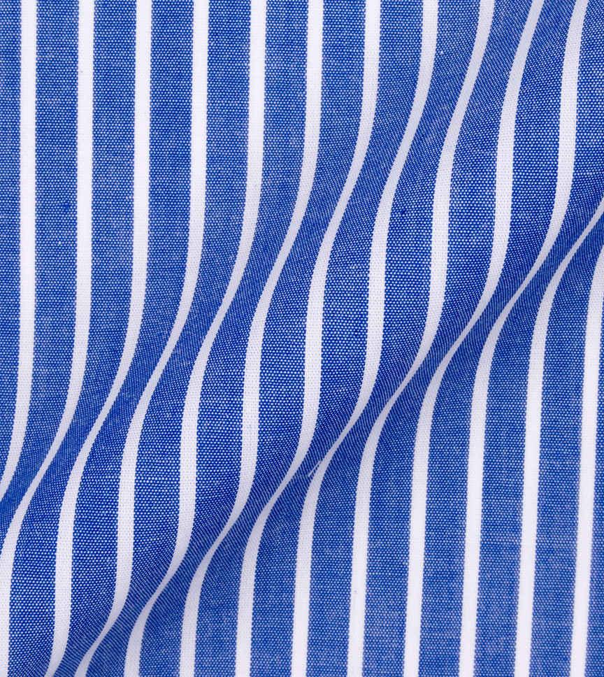 The Atlantic Blue White Stripe by Hemrajani Product Image