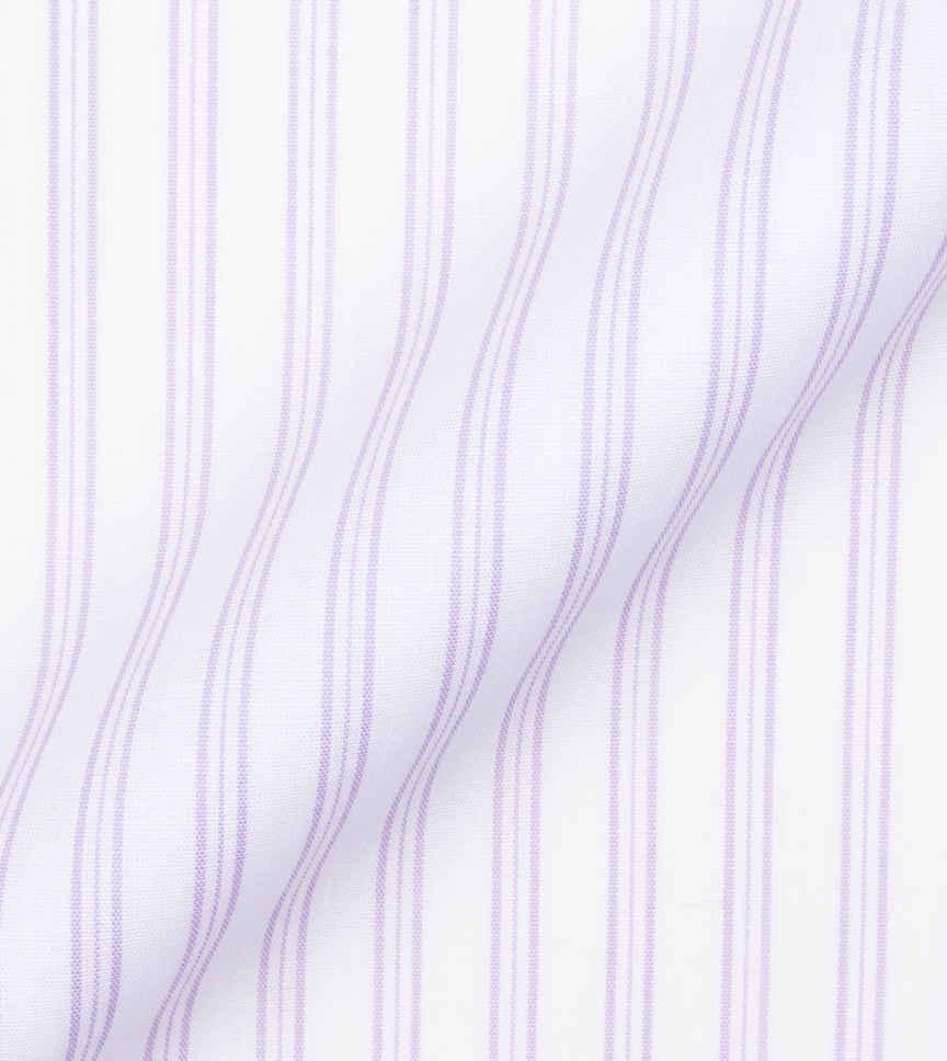 The Lavender Fields white Stripe by Hemrajani Product Image