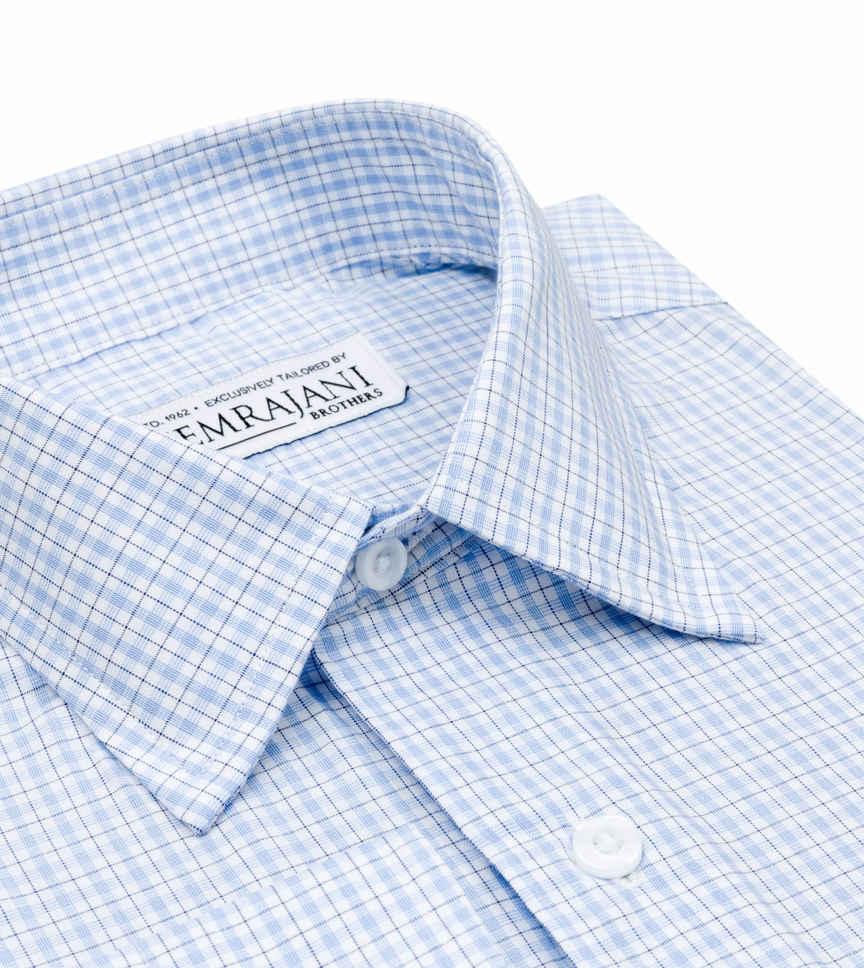 The Atlantic Blue White Check by Hemrajani Product Image