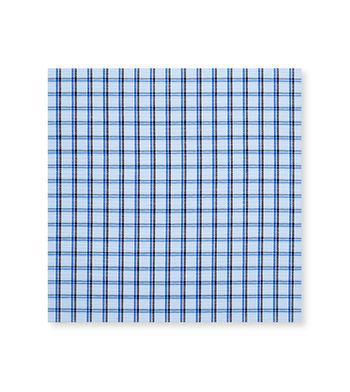 Cool Dusk Blue Grey Check by Hemrajani Product Image