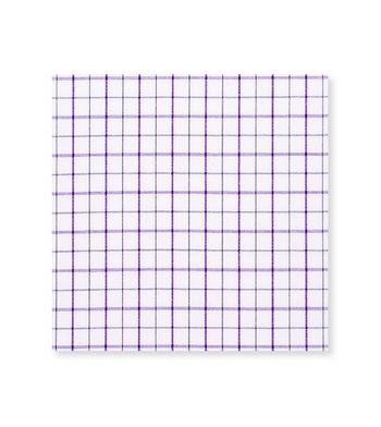 Standout Napa Grape Purple Black Check by Hemrajani Product Image