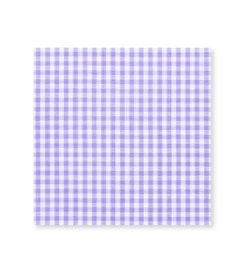Flourescent Gingham Lavender Check by Hemrajani Product Image