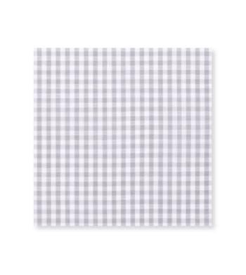 Light Lead Gingham Grey Check by Hemrajani Product Image
