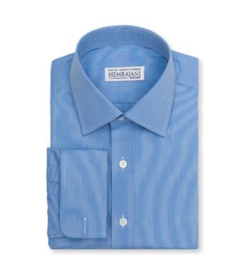 shirts cotton admiral blue striped