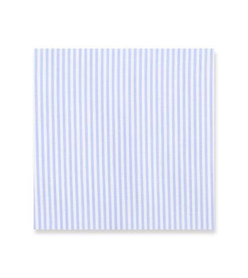Periwinkle Pencil Light Blue White Striped by Hemrajani Product Image