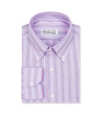 shirts cotton deep lavender and steel grey blue lavender blue striped