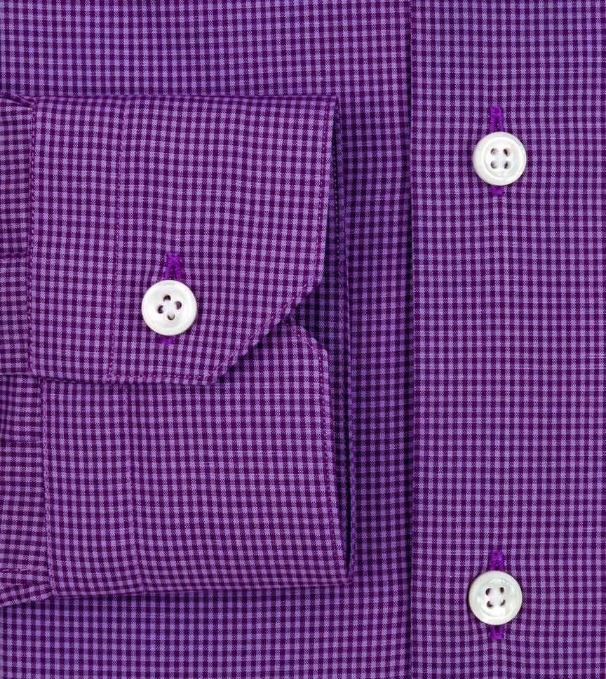 The Deep Violet Check by Hemrajani Product Image