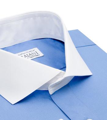 shirts cotton pacific blue blue solids