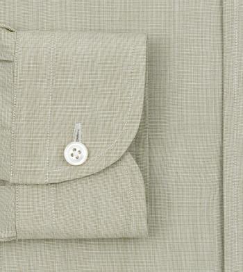 shirts cotton coastal villa olive olive green solids
