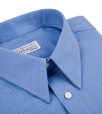 shirts cotton atlantic blue herringbone blue solids