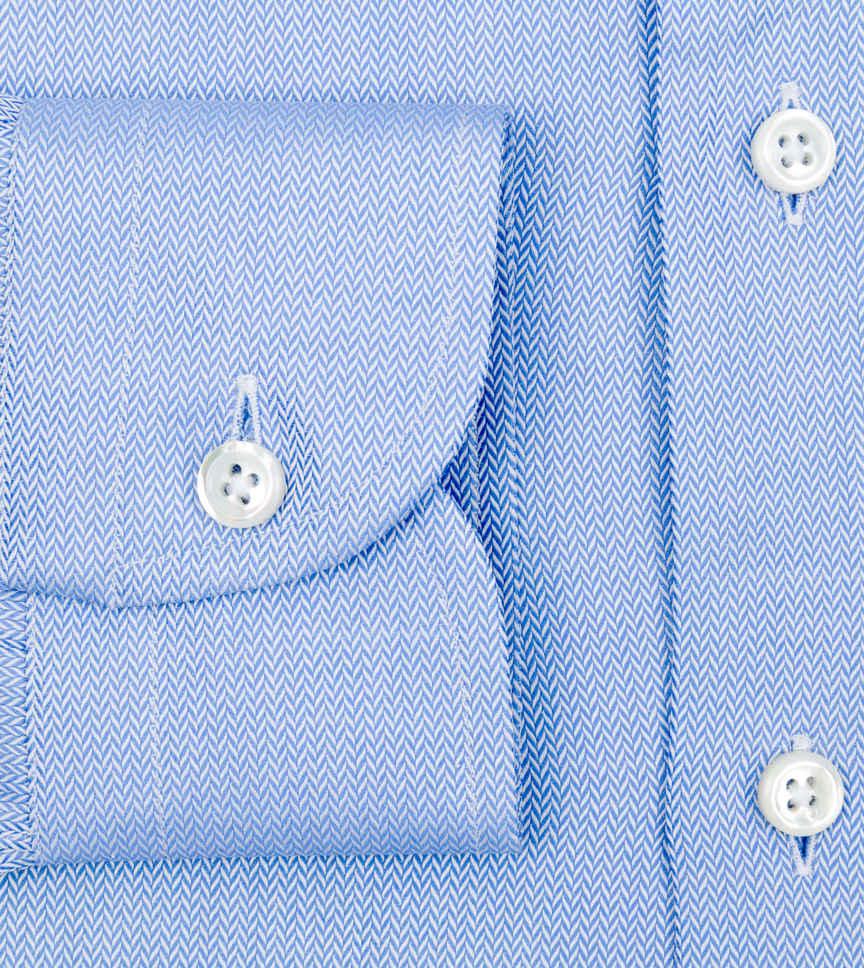 Jonathan Blue Herringbone Light Blue Solids by Hemrajani Product Image