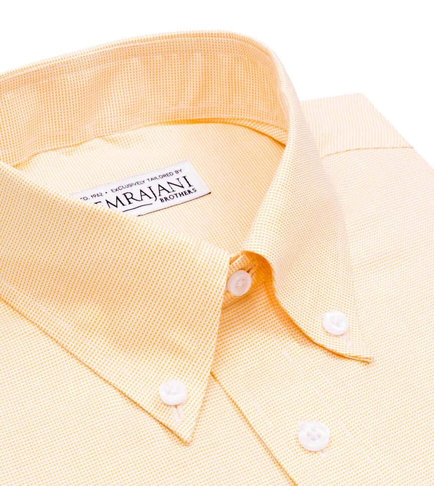 Lemon Sorbet Nailhead Yellow Semi Solids by Hemrajani Product Image