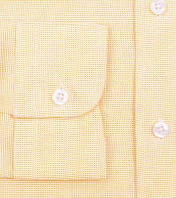 shirts cotton lemon sorbet nailhead yellow semi solids
