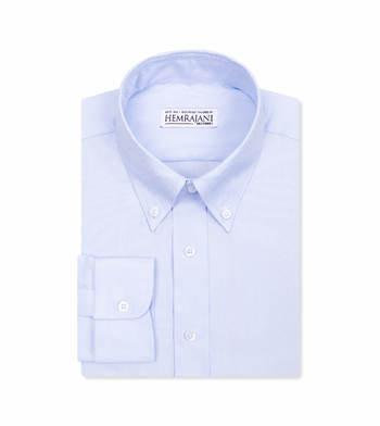 custom tailored shirts baby blue dobby