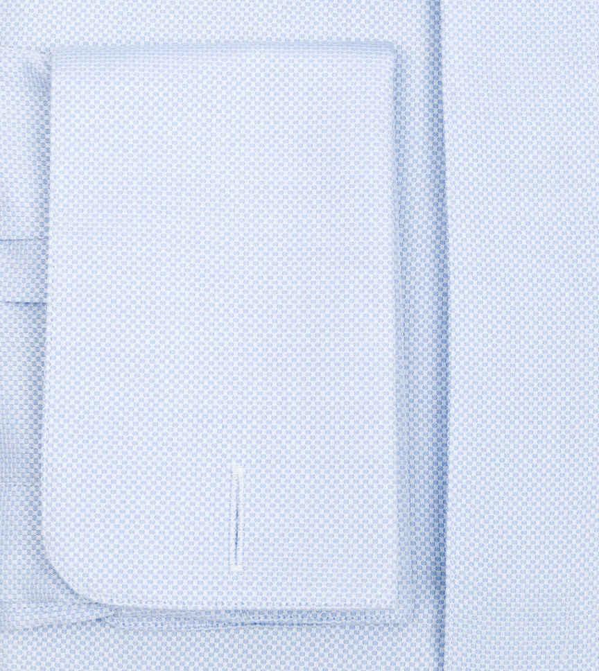Soft Blue Dobby Light Blue Semi Solids by Hemrajani Product Image