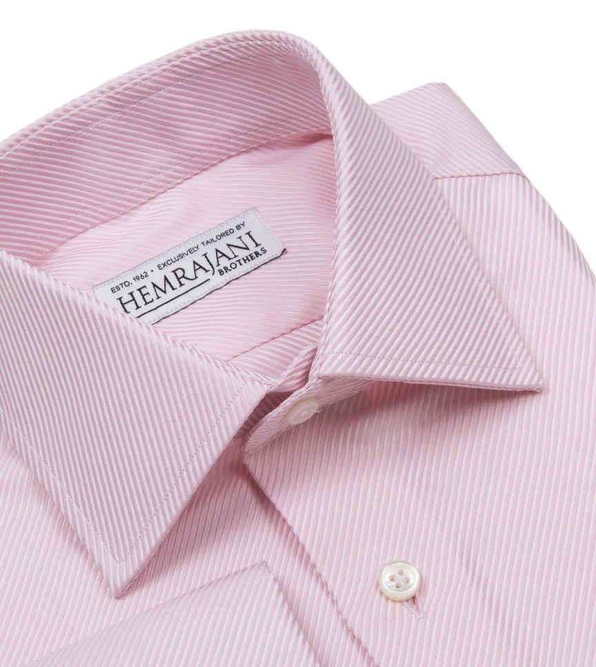 Blush Pink White Semi Solids by Hemrajani Product Image