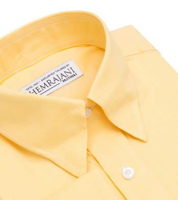 shirts cotton tuscan sun dobby yellow solids