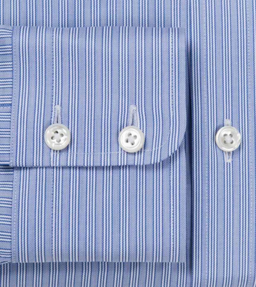 Easy Breeze Blue Light Blue Blue Striped by Hemrajani Product Image
